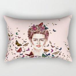 Frida Kahlo - Mexico Rectangular Pillow