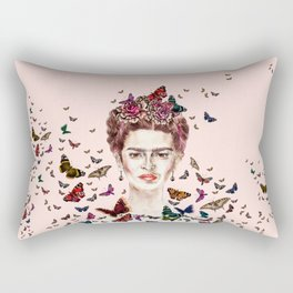 Frida Kahlo - Mexico Rectangular Pillow
