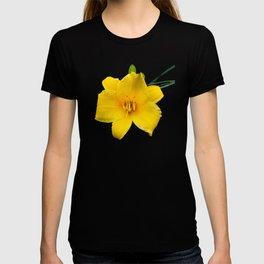 Yellow Daylily Flower T-shirt