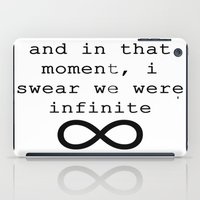 infinite iPad Cases featuring Infinite by AliceAttack