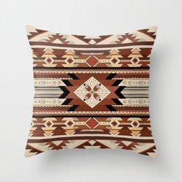 Native feather Throw Pillow