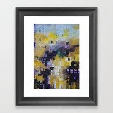 urban landscape 9 Framed Art Print
