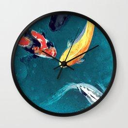 Water Ballet Wall Clock