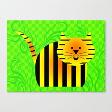 Little Tiger Canvas Print