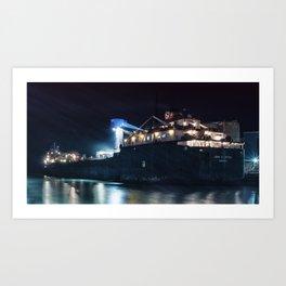 Great Big Ship Art Print