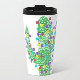 Festive Cactus Travel Mug