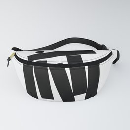 The black series: Line 2 Fanny Pack