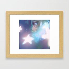 andromeda's myth Framed Art Print