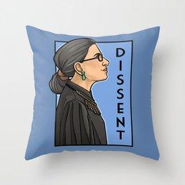 Dissent Throw Pillow