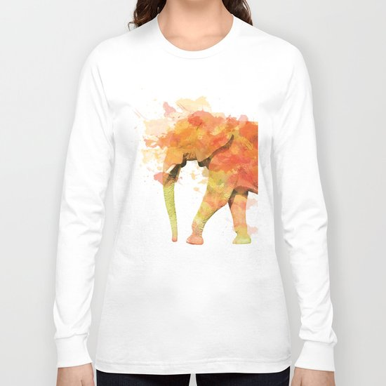 Positive elephant Long Sleeve T-shirt