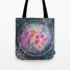 Portrait of an imaginary planet Tote Bag