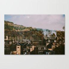Scottish Rooftops Canvas Print