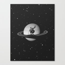 Planetary Ride Canvas Print