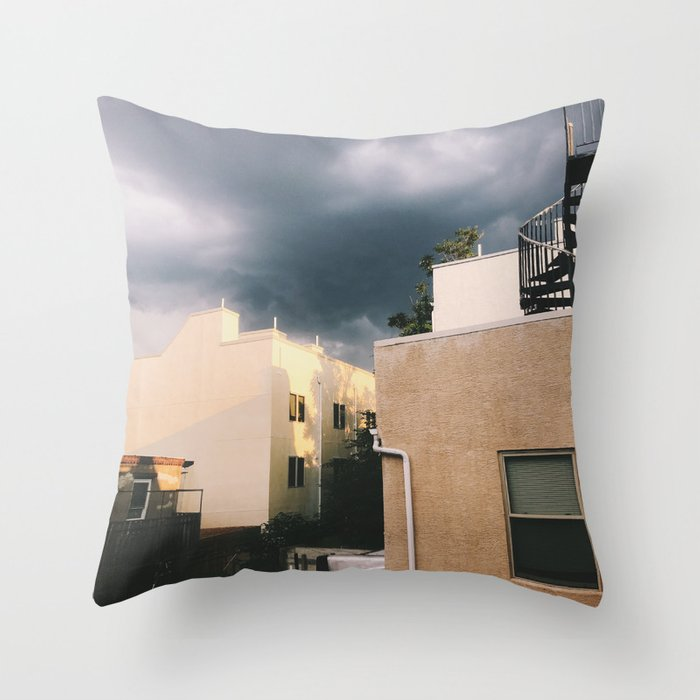 light before the storm Throw Pillow