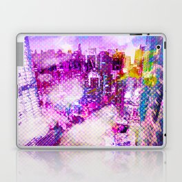 Retro Comic City Laptop & iPad Skin