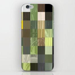 Cactus Garden Abstract Rectangles 3 iPhone Skin