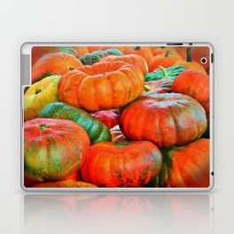 Heirloom Pumpkins Laptop & iPad Skin