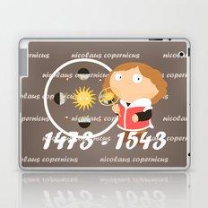 Nicolaus Copernicus Laptop & iPad Skin