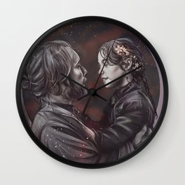 Space dad Wall Clock