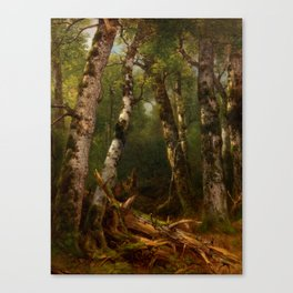 Group of Trees by Asher Brown Durand Canvas Print
