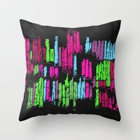 wasted rita Throw Pillows featuring Wasted by Last Call