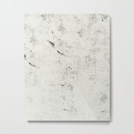 splash white Metal Print