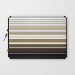Bay Ombre Stripe: Neutral Laptop Sleeve
