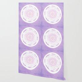 Boho Sunset Mandala  Wallpaper