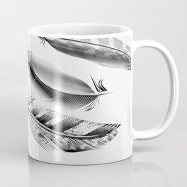 Cosmic Feathers Carbon Dust Coffee Mug
