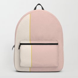 Subtle Spring Color Block Backpack