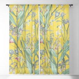 Magical Garden XII Sheer Curtain