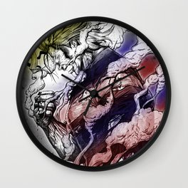 All might Beyond Plus Ultra Wall Clock