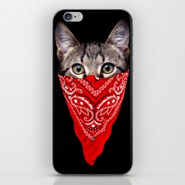 Gangster Cat iPhone Skin