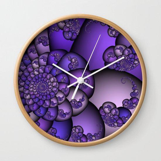 Perplexity of Purple Wall Clock