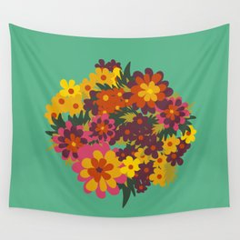 Flowers For Lola Wall Tapestry