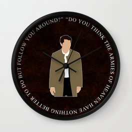 Supernatural - Castiel Wall Clock