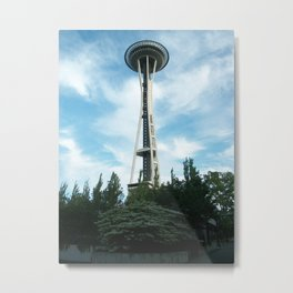 Seattle Space Needle Metal Print