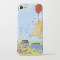 pooh iPhone & iPod Cases featuring Winnie the Pooh by Marilyn Rose Ortega