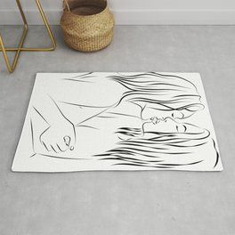 Minas - the kiss is coming Rug