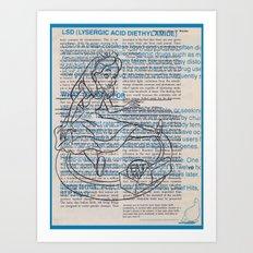 Alice's Decision  Art Print