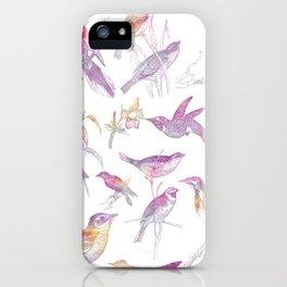 If you're a bird, I'm a bird. iPhone Case