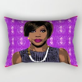 "TV Queens - Annalise Keating  ""Messing with the Wrong Bitch"" HTGAWM Rectangular Pillow"