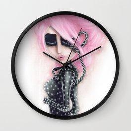 Pinkanhy Polka Wall Clock