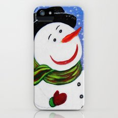 Christmas card 5 iPhone (5, 5s) Slim Case
