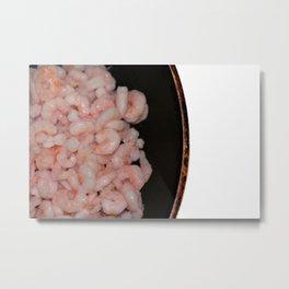 Shrimp Metal Print
