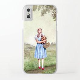 Dorothy & Tóto Clear iPhone Case