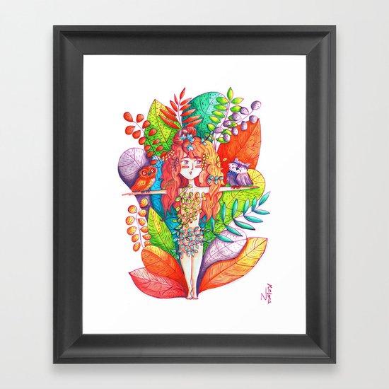 Natural Balance Framed Art Print