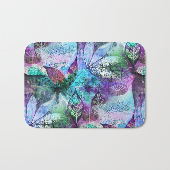 Nocturnal Whimsy Bath Mat