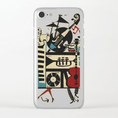 Jazzz Clear iPhone Case