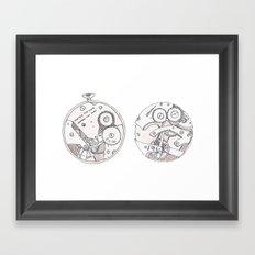 Pocket Watch Framed Art Print